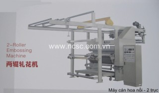 Embossing machine  2- 3 roller