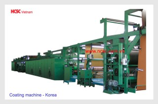 Coating machine - Korea