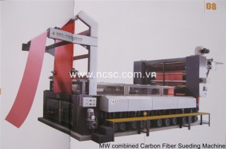 MW combined carbon (ceramic) fiber sueding machine