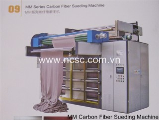 MM carbon fiber sueding machine
