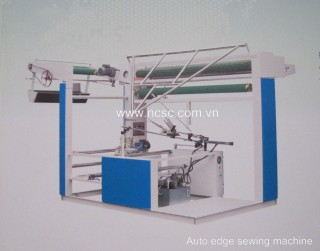 Auto edge sewing machine