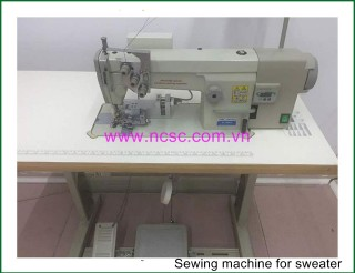 Sewing machine for sweater