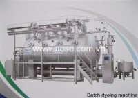 Batch dyeing machine