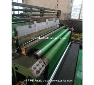 PP PE fabric - net water jet loom