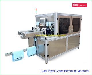 Auto Towel Cross Hemming Machine